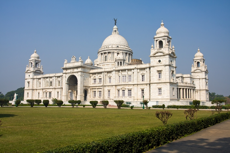 Victoria Memorial is filled with amazing relics from India's past.